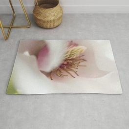 Macro Of A Tulip Tree Blossom Rug