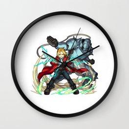 Fullmetal Alchemist Edward Chibi Wall Clock
