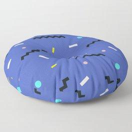 Memphis pattern 57 Floor Pillow