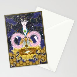 Pure Mother Bee Stationery Cards