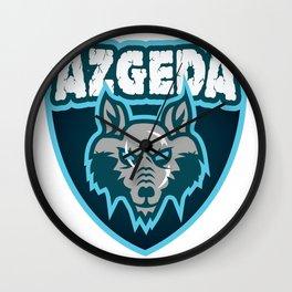 Azgeda Kru Shield Wall Clock