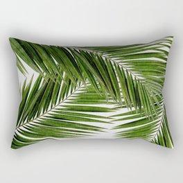 Palm Leaf III Rechteckiges Kissen