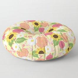Summer Sunflower Floor Pillow