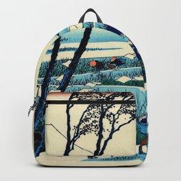 Mt,FUJI36view-Sunshu Ejiri - Katsushika Hokusai Backpack