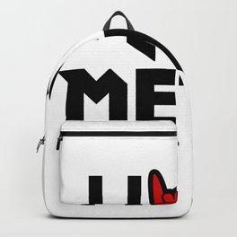 I Love Metal Music Backpack