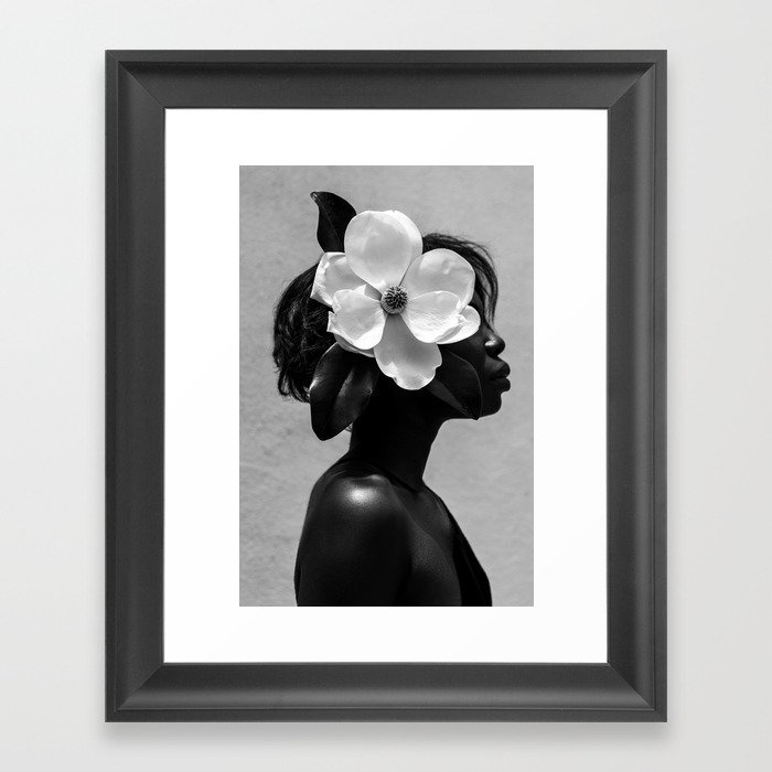 Magnolia Gerahmter Kunstdruck