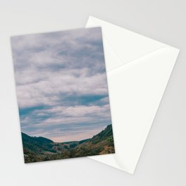 Clouds and Mountain Stationery Cards