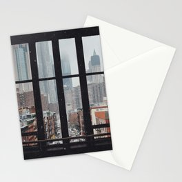 New York City Window Stationery Cards