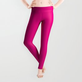 Fuchsia Pink Leggings
