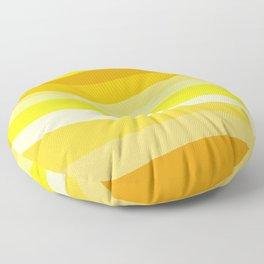 Retro Waves 6 Floor Pillow