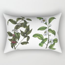 Caffeine Botanicals Rectangular Pillow