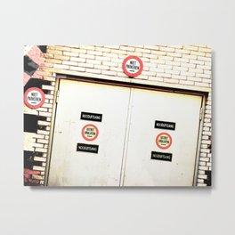 The Door 13 Metal Print