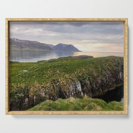 Landscape in Eastern Iceland Serving Tray
