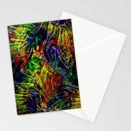 Mosaic of Bird V2 Stationery Cards