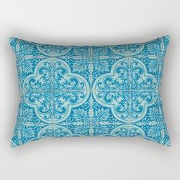 Azulejos azules Rectangular Pillow