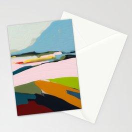 landscape summer Stationery Cards