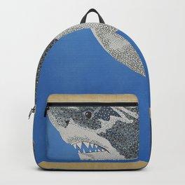 Fool Like You For Breakfast- Great White Shark Backpack