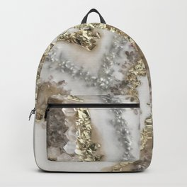 Geode Resin Painting Backpack