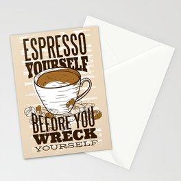 Espresso Yourself Stationery Cards