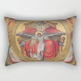 Cologne Cathedral - Altar of the Poor Clares Rectangular Pillow