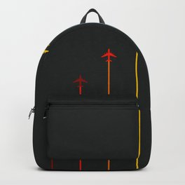 Retro Airplanes 07 Backpack