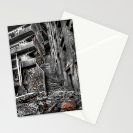 Abandoned Gunkanjima (official name is Hashima), Nagasaki Prefecture, Japan Stationery Cards