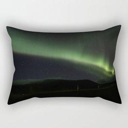 aurora borealis - 4 Rectangular Pillow