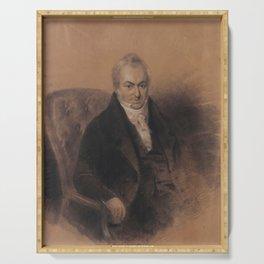 Abraham Solomon - Henry Ezekiel (1845) Serving Tray