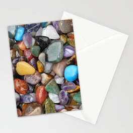 Healing Crystals Stationery Cards