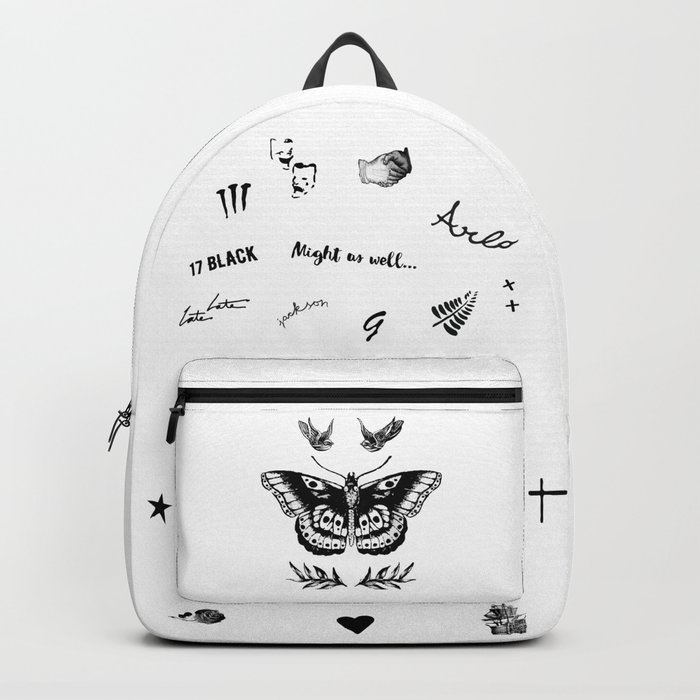 Harry's Tattoos Two Rucksack