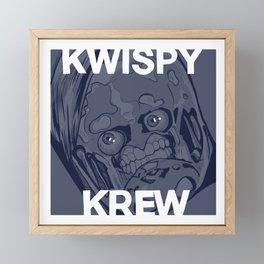 Kwispy Krew Framed Mini Art Print