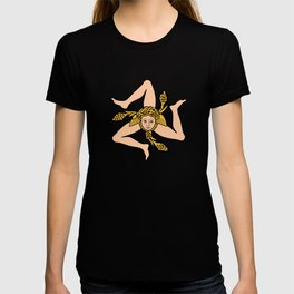 Sicilian triskelion - Flag of Sicily T-shirt