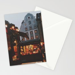 December in Stockholm  Stationery Cards
