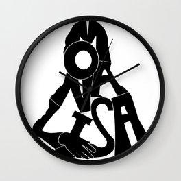 La Gioconda Wall Clock