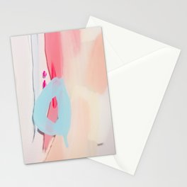 Even After All  #2 - Abstract on perspex by Jen Sievers Stationery Cards
