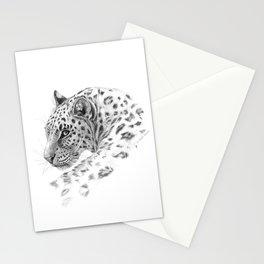 Leopard - Glance back Stationery Cards