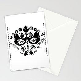 Scandinavian Folk Pattern Art Stationery Cards