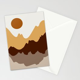 Abstract Landscape #1 Stationery Cards