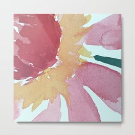 Flowers in the Sun Art Print- Study 23 Metal Print