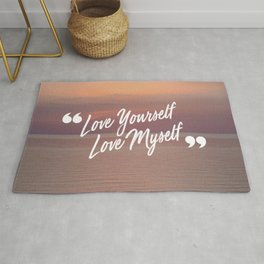 BTS: Love yourself, love myself Rug