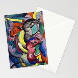 Franz Marc - Drei Pferde - Three Horses Stationery Cards