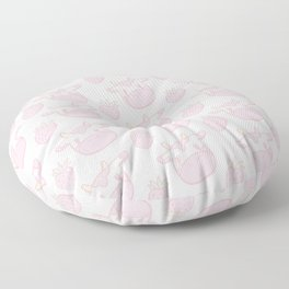 Strawberry Cow Floor Pillow