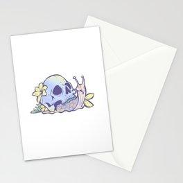 Pastel Goth Kawaii Eboy Egirl Emo Cute Skull Snail Grunge Stationery Cards