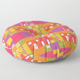 The Social Constructivist Collection Floor Pillow