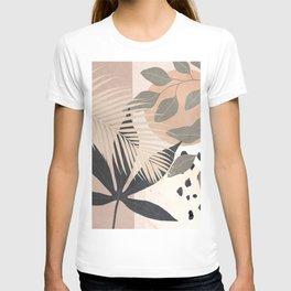 Abstract Tropical Art IX T-shirt