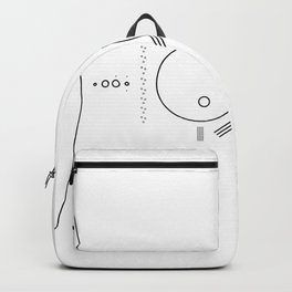 Minimalist Solar System Backpack
