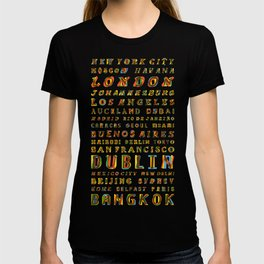 Travel World Cities T-shirt