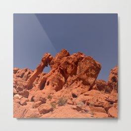 Elephant Rock, Valley of Fire Metal Print