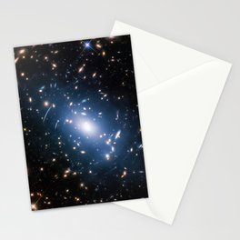 Hubble Space Telescope - Intracluster light in Abell S1063 Stationery Cards