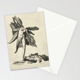 Vintage Greek Mythology Illustration - Pyramus and Thisbe Stationery Cards